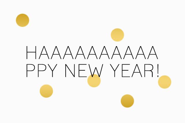 Neues Jahr, altes Glück!