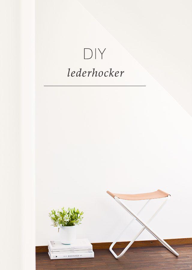 Lederhocker