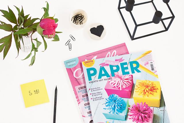 Bildschoenes macht in Papier*