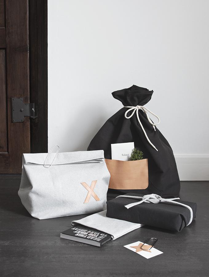 Geschenke mit Stoffresten verpacken