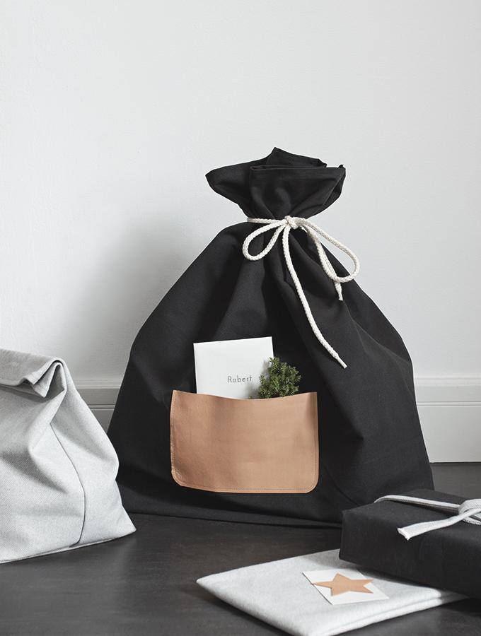 Geschenkverpackung aus Stoff