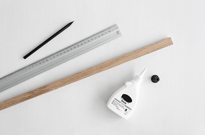 Material für DIY Untersetzer