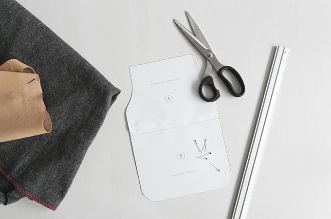 Material für DIY Wärmflasche