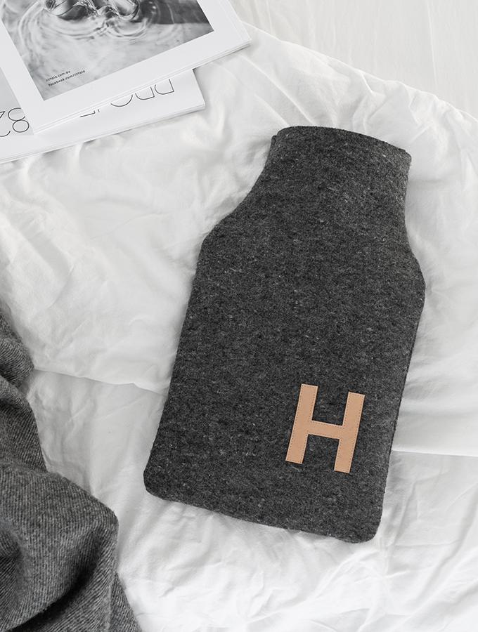 Wärmflasche aus Wolldecke