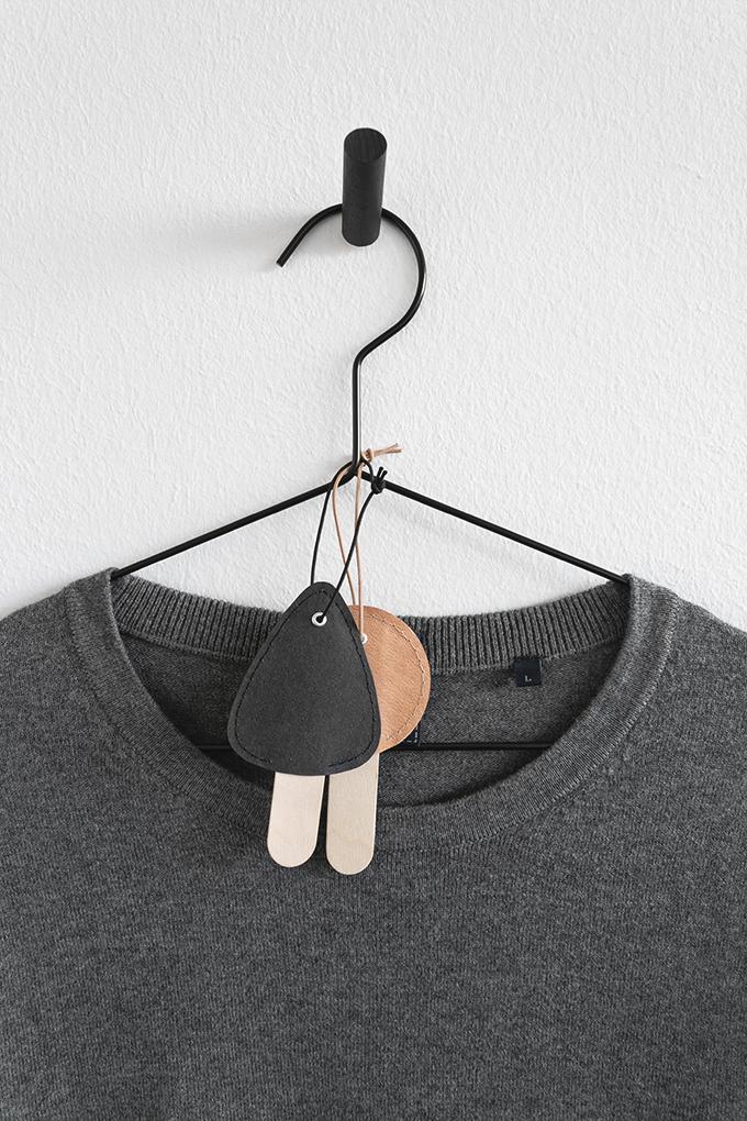 DIY Duftbäumchen an Kleiderbügel