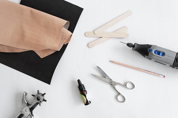 Material für DIY Duftbäumchen