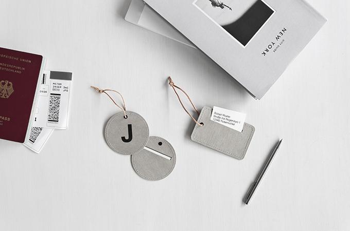 DIY Kofferanhänger mit Buchstaben