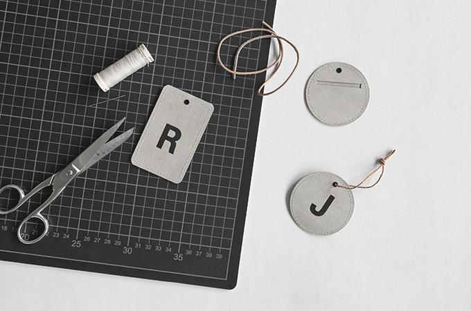 DIY Adressanhänger aus SnapPap